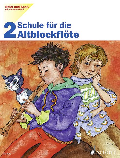 Spiel Und Spaß Mit Der Blockflöte Band 2 Engel, Gerhard / Heyens, Gudrun Stude